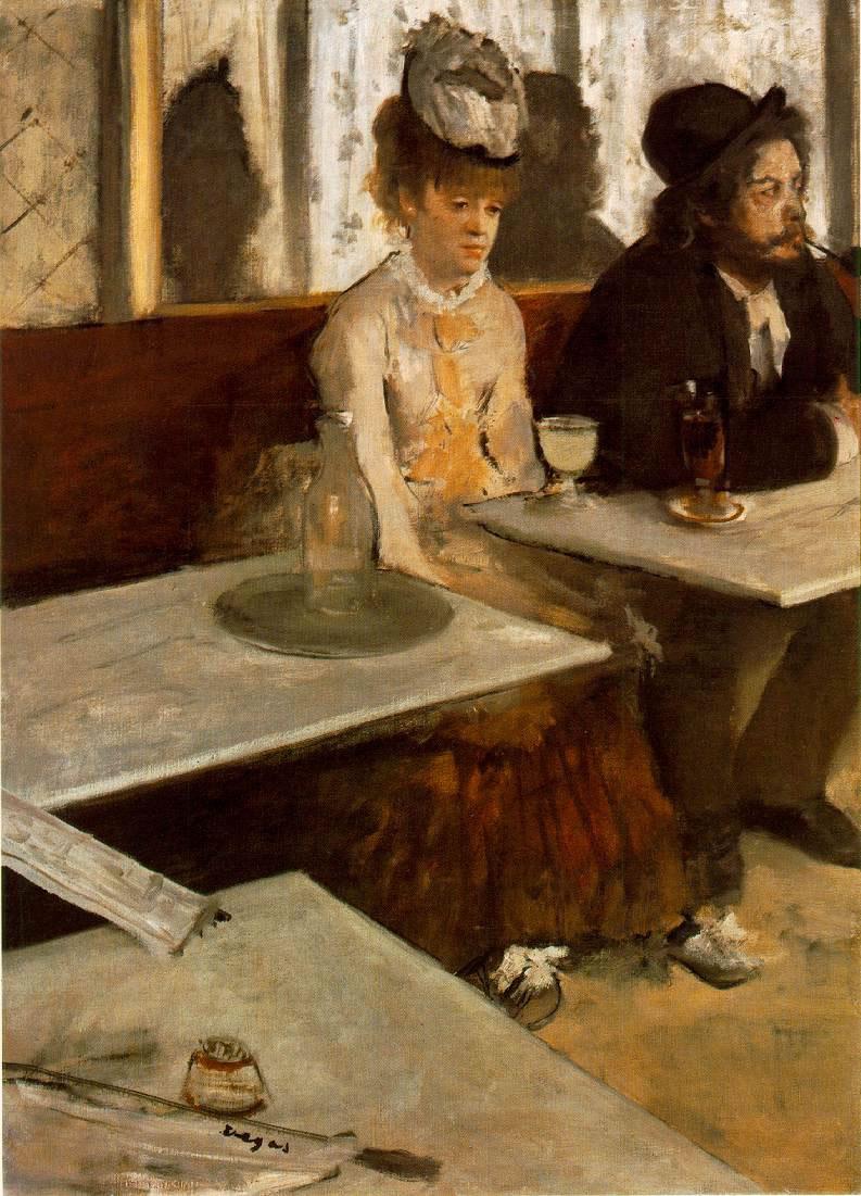 La absenta – Edgar Degas