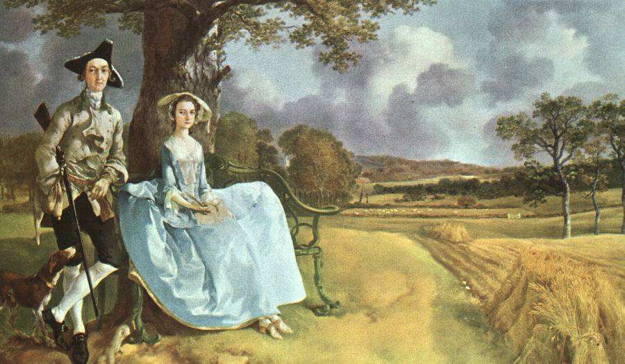 El matrimonio Andrews – Thomas Gainsborough