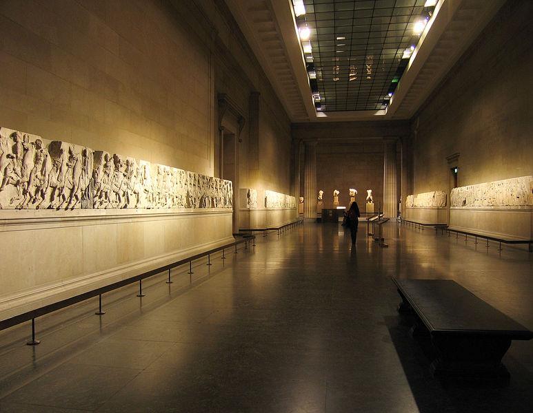 Frisos del Partenón en Londres