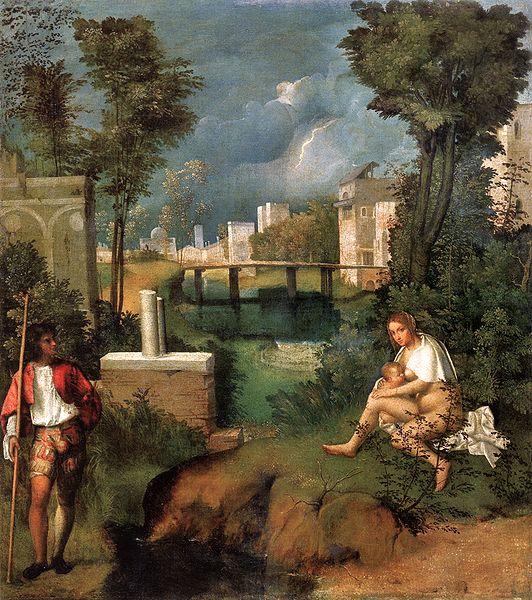 Giorgione La tempestad