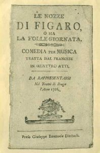 Las bodas de Fígaro - Wolfgang Amadeus Mozart