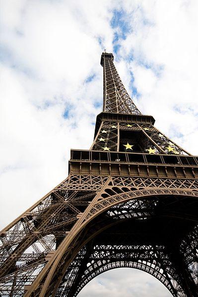Torre EIFFEL vista perspectiva
