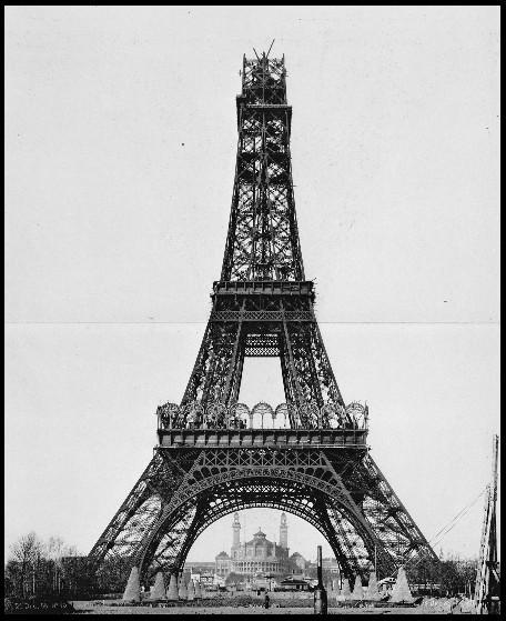 Torre EIFFEL construcción parcial 2