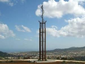 Monumento conmemorativo a las víctimas de la mayor catástrofe aérea de la historia