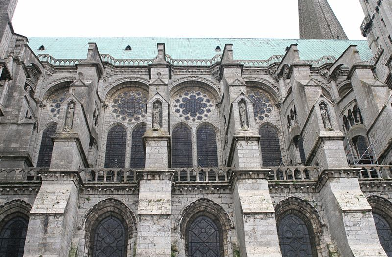 Catedral De Chartres Arquitectura Increible Leitersblues