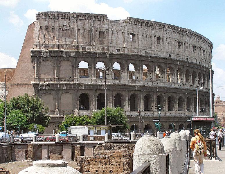 El Coliseo Romano, la ciudad eterna