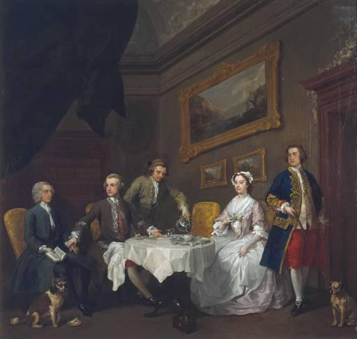 LA FAMILIA STRODEde WilliamHogarth