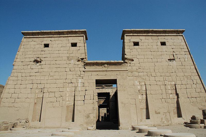 Templo de KARNAK frontal