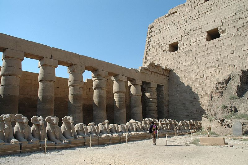 Templo de KARNAK esculturas