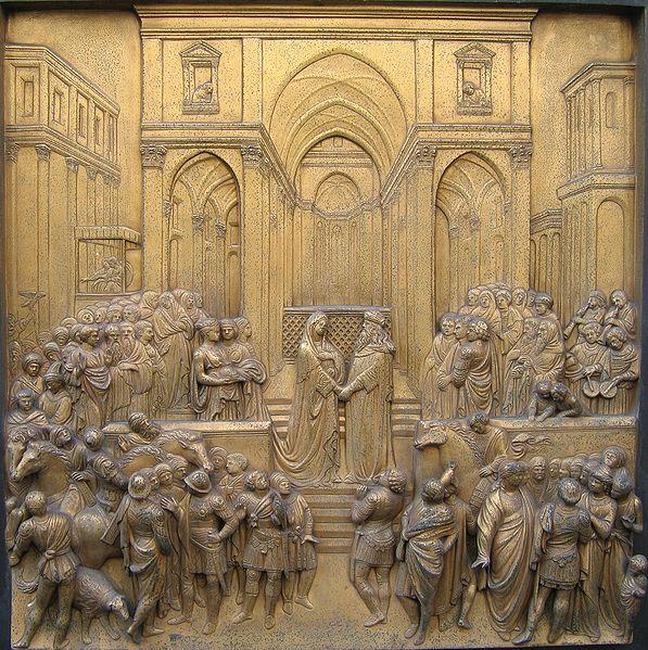 Escena de Salomón y la reina de Saba: Fotografía de RICHARDFABI