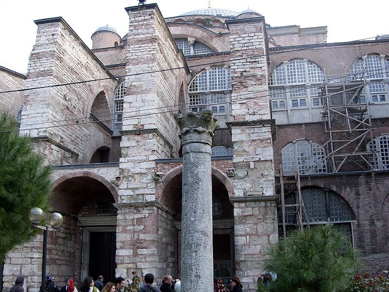 Santa Sofía de Constantinopla por fuera