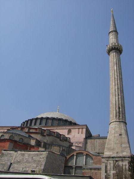 Santa Sofía de Constantinopla torre