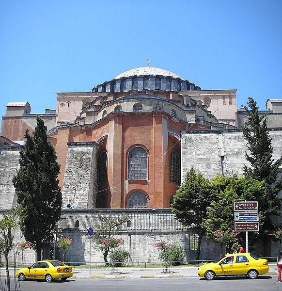 Santa Sofía exterior