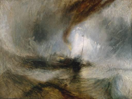 TORMENTA DE NIEVE de JosephM. W. Turner