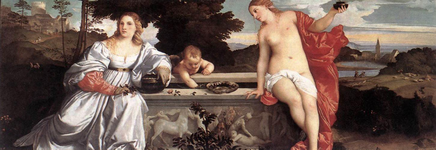 Amor sacro profano Tiziano
