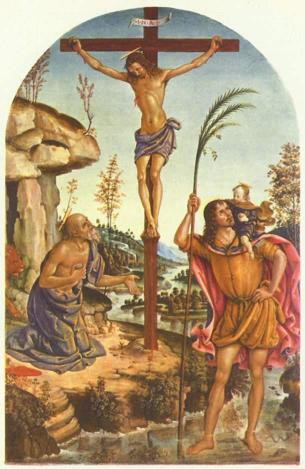 Crucifixion Pinturicchio