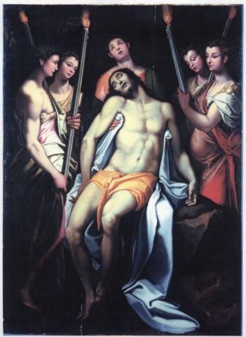 Galería Borghese, Piedad angeles Zuccaro