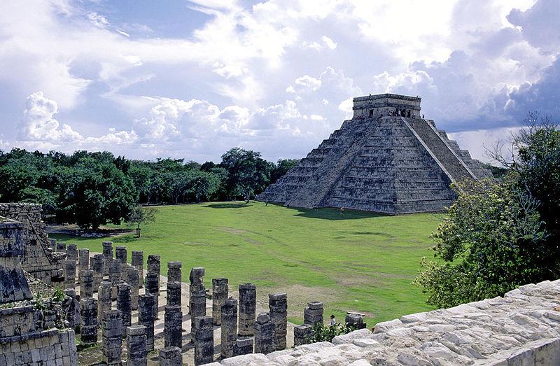 Chichén Itzá por Claude Belair