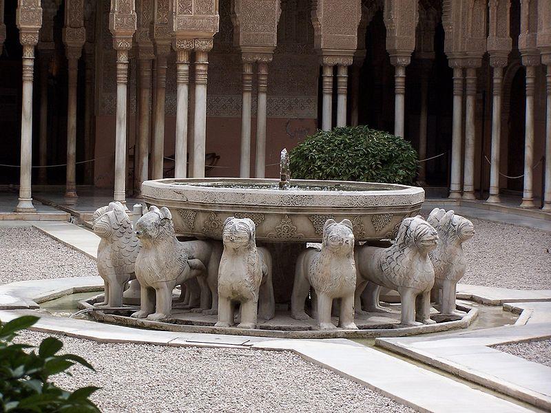 Alhambra de Granada, patio
