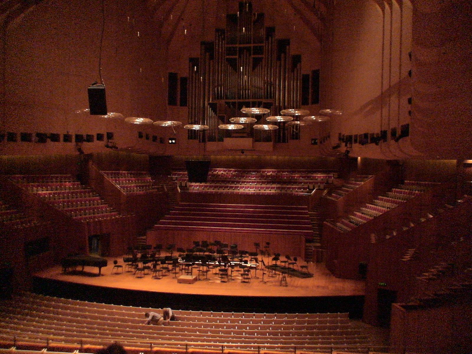 Interior, teatro de la ópera