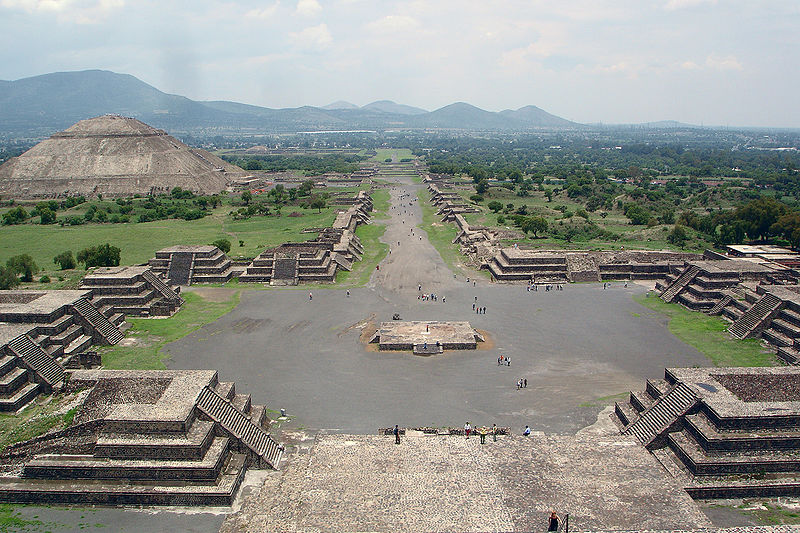 Teotihuacán plano general